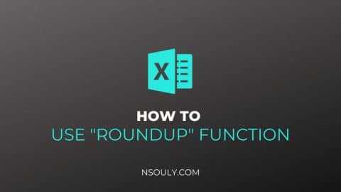 How to Roundup in Excel: Steps to Follow