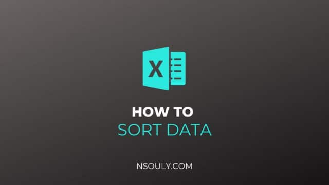 How To Sort By Date In Excel: Chronological, Month, Year and Weekday